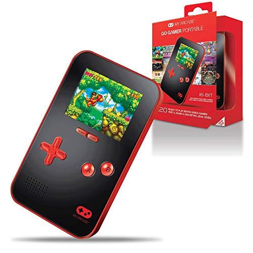 My Arcade Go Gamer portátil DGUN-2891, máquina de 16 bits con 220 Juegos Integrados