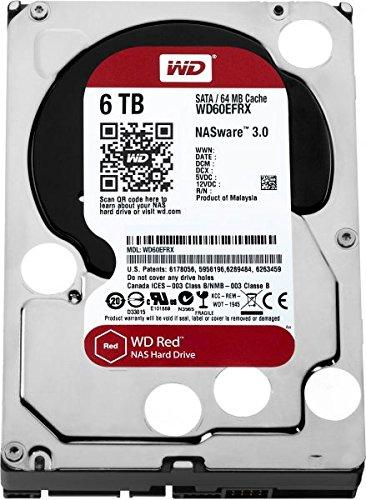 Global Dream srls HD 3,5SATA 6TB WD Red NAS Intelli Power 64MB 6GB/s NAS Storage