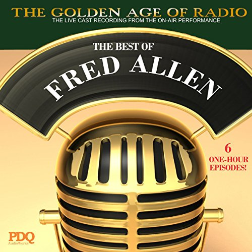 The Best of Fred Allen audiobook cover art