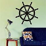 Modeganqingg Meer Stil Vinyl wandaufkleber Dekoration ruder Kunst wandaufkleber hohe qualität tapete kreatives Design wandtattoo 75,6 cm X 75,6 cm