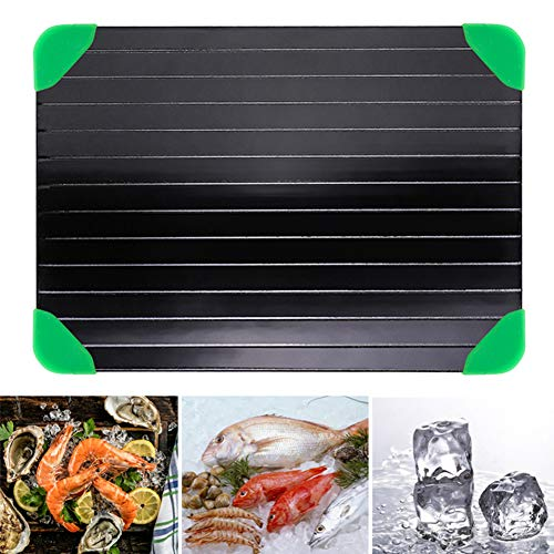 Platte Auftauen Home Kitchen Auftauen Schneidebrett Lebensmittel Fleisch Schnell Abtauteller Einfach Zu Reinigen Auftauen Tiefkühltablett Abtaubrett
