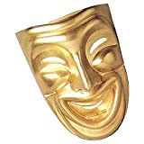 Comedy and Tragedy Masks Costume Accessory