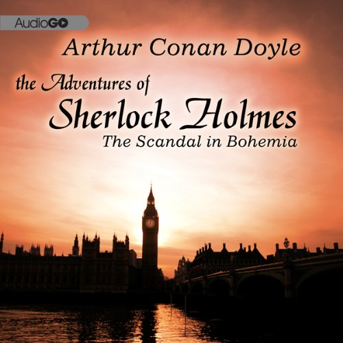 Couverture de Sherlock Holmes: A Scandal in Bohemia