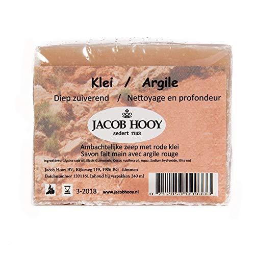 Jacob Hooy Klei Zeep Niet Vloeibaar, 240 Ml