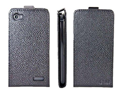 caseroxx Flip Cover für Medion Life E4506 MD 99478, Tasche (Flip Cover in schwarz)