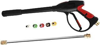 """Wasmachine Pistool, Hogedrukreiniger 1/2""""BSP Wasmachine Spuitpistool Dust Wash Tool met 5 Nozzles Maximaal 4000 PSI"""