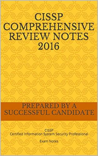 CISSP Comprehensive Review Notes 2016