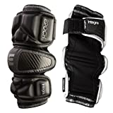 Epoch Lacrosse Integra Arm Pads for Attackmen and Middie Black Medium