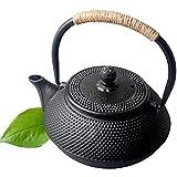 ZCME-power Tetera Tetera de inducción de hervidor de Hierro Fundido Tetera con pote de té de colador Oolong té café...