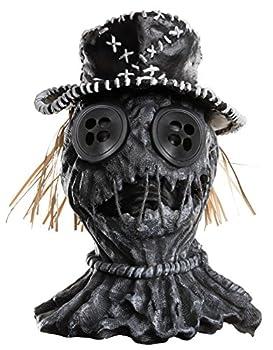 Rubie s Men s Dj Ashba Scar-Crow Deluxe Overhead Mask As Shown One Size