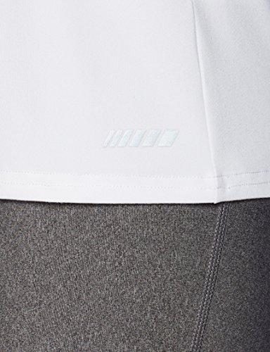 Amazon Essentials 2-Pack Tech Stretch Short-Sleeve V-Neck T-Shirt,Black/White,Small