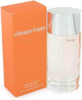Clinique Happy Eau de Parfum Spray for Women, 3.4 Fluid Ounce