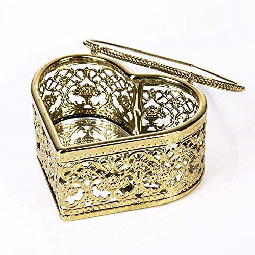 Caja de joyería femenina caja de joyería en forma de corazón hueco Nordic Phnom Penh caja de joyería, muy buen regalo