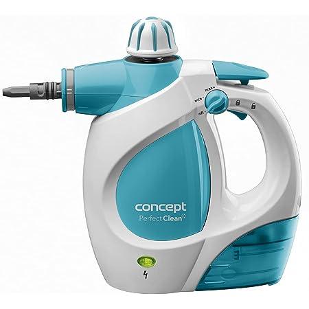 CONCEPT électroménager CP1010 Nettoyeur vapeur Perfect Clean, 1200 W, 3 bars, 400 ml, large gamme d'accessoires