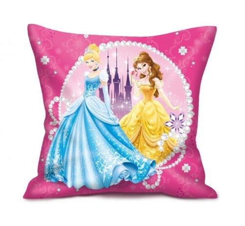 Disney Prinzessin Kissen (2 Motive) [35x35 cm] [Import allemand]
