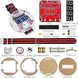 FORETTY DIANLU43 DIY Relojes electrónicos de Dispositivo portátil ATMEGA328 Relojes programables para Kit de Reloj electrónico DIY Rendimiento Estable