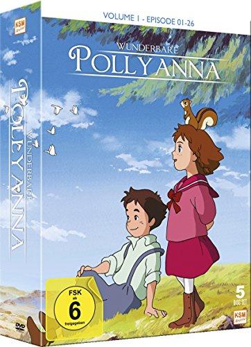 Wunderbare Pollyanna - Volume 1 (Episode 01-26 im 5 Disc Set)