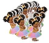Rainbow Princess Cut-Outs, African American...