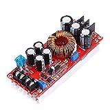 Teyleten Robot 1200W 20A DC Converter Boost Car Step-up Power Supply Module 8-60V to 12-83V