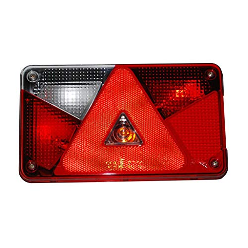 Aspöck Multipoint 5 Lichtscheibe Ersatzglas links 18-8485-007 Multipoint V