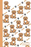 Goldendoodle: Dog Notebook | Cute, Funny Diary | (Goldendoodle Lovers) Journal | 6x9 | 110 Pages | Blank Lined Journal For Gift