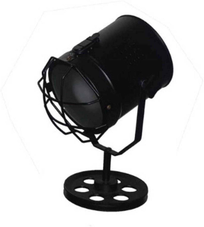 Xiadsk Europische Retro Rad sonde tischlampe kreative LED tischlampe Wohnzimmer Schlafzimmer Nacht Hause Beleuchtung Dekoration