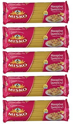 Misko #2 Greek Macaroni Pastitsio Pasta Noodles 500g (5 Pack)