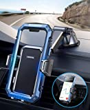 Phone Mounts for Car, Universal 3 in 1 Car Phone Mount【Update Adhesives&Never Fall】, Easy Clamp Dash Air Vent Cell Phone Holder Cradle Safe Driver Friendly, With iPhone SE 13 Pro Galaxy S21 All Phones