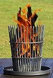 Edelstahl Feuerkorb, RICON, deutsche Herstellung