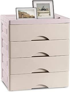 Nafenai 4-Drawer Closet Underwear Storage Organizer Unit