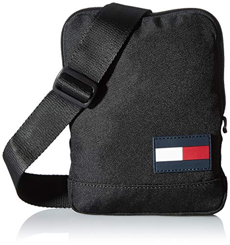 Tommy Hilfiger Tommy Core, Bolso para Hombre, Black, One Size