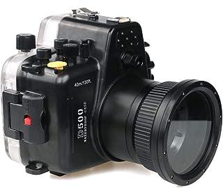 Sea Frogs 40m / 130ft 防水型水中カメラハウジングケースダイビング装置Nikon D500用