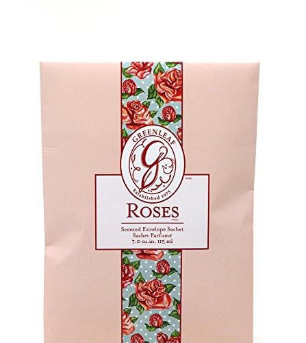 Unbekannt Greenleaf - Duft-Sachet Duftsäckchen Dufttüte Duftgranulat Duftbeutel Roses
