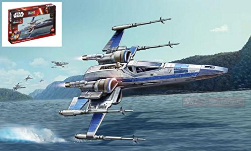 Revell RV06696 Star Wars Resistance X-Wing Fighter Kit 1:50 MODELLINO Model Compatible con