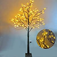 Ziothum Maple Tree with Artificial Christmas 128LED Lights