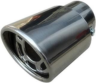 RoadRoma General Motors Cola de Garganta Garganta de Escape Modificaci/ón Extintor de Sonido Bend Silver