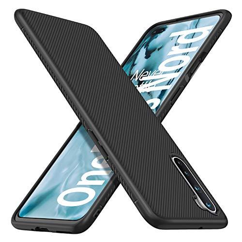 iBetter Diseño para OnePlus Nord Protectora Funda,Fina de Silicona [Resistente a los arañazos ] Funda para OnePlus Nord Smartphone. (Negro)