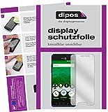 dipos I 2X Schutzfolie klar kompatibel mit Doro 8035 Folie Bildschirmschutzfolie