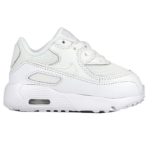 2a53ae258 Nike Unisex Babies  Air Max 90 Mesh (Td) Sneakers Black
