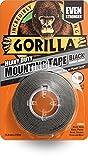 Gorilla Heavy Duty Mounting Tape Black 25.4mm x 1.5m