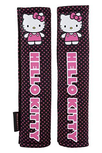 Hello Kitty KIT1034 Gurtpolster Rosa Farbe, Set of 2