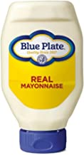 Blue Plate Squeeze Mayonnaise, Regular, 18oz (Pack of 6)