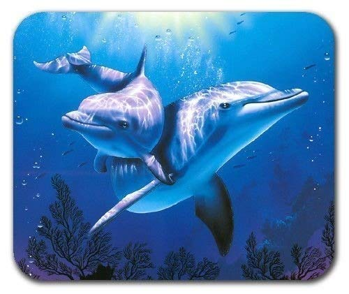 Yanteng made (mouse pad gaming mouse mat A178) Dolphin underwater ocean sea blue aquarium hope mousepad mouse pad mat mousepad mouse pad mouse mat