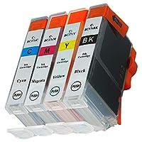 BCI-7e(BK/C/M/Y/)4色セット CANON(キャノン) 新互換インクカートリッジタイプ 最新型ICチップ対応 残量表示あり 取扱説明書付き【三大保証1年パック対応】【Mint製】