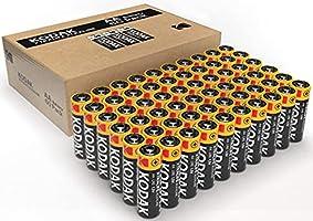 Kodak AA 60 Pack Xtralife Alkaline Batteries, (30410961)
