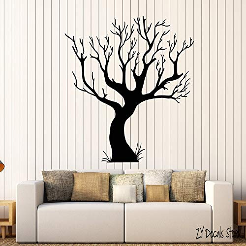 Gothic Tree Wall Decals Bare Nature Style Room Art Stickers Home Bedroom Living Room Decoration Art Mural For Nursery L623