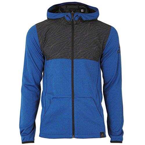 adidas Herren Climalite S1 Mix Fabric Jacke blau (blau, M)