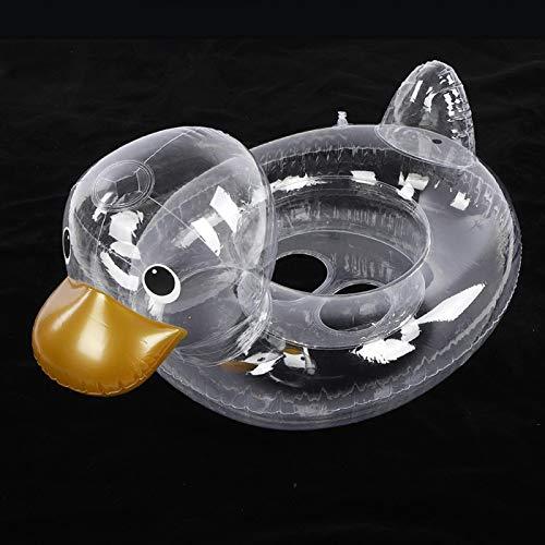 FECAMOS Anillos de natación, Piscina de Materiales de PVC a través de Anillos para Exteriores para bebé para Verano