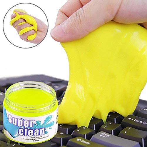DoriUp キーボードクリーナーゲルスティッキーゼリーラップトップコンピューターダストリムーバーフレキシ...