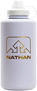 Nathan SuperShot 1.5 L Water Bottle, Blue/Electric Blue